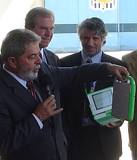 President Luiz Lula olpc